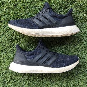 Adidas Ultra Boost 4.0 Parley Carbon Blue White